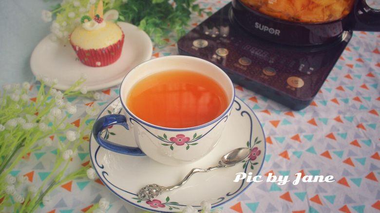 百香水果茶#冬喝暖饮夏吃冰#