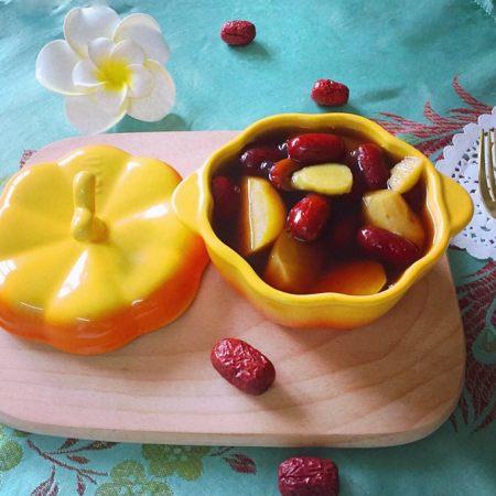 红枣番薯糖水~#冬喝暖饮夏吃冰#