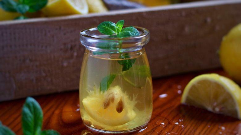 柠檬铁观音蜂蜜茶