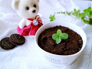 奥利奥酸奶盆栽,一个美美的小盆栽就完成了!