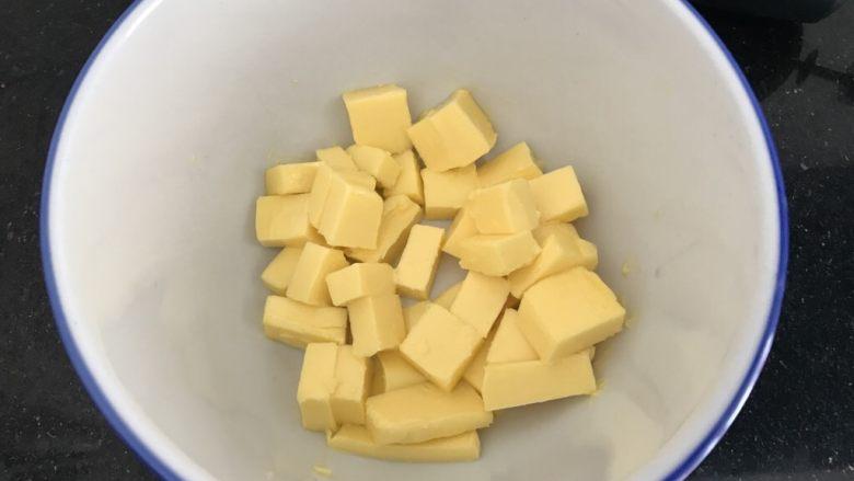 腰果小酥饼,<a style='color:red;display:inline-block;' href='/shicai/ 887'>黄油</a>先室温自然软化至筷子轻易戳进,但不能融化成液态哟