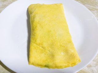 零失败的蛋包饭,隔夜饭的春天,反转扣过来,成功。