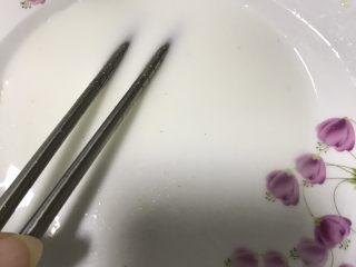 番茄龙利鱼,调好淀粉水勾芡。
