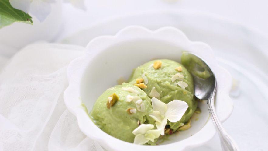 牛油果冰淇淋