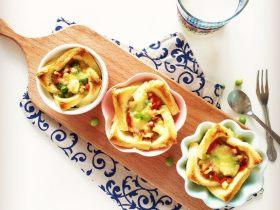 小芽早餐-法式吐司披萨盏