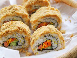 肉松寿司,成品