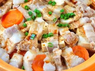 五花肉豆腐锅,成品。