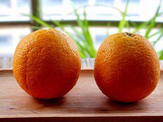 橙色水果汁,准备好橙子