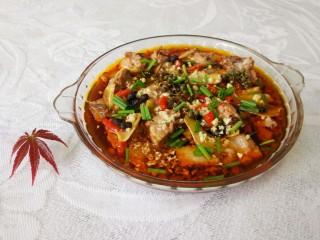 青花椒豉汁蒸排骨