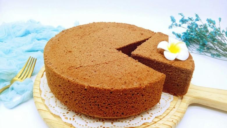 #甜味#可可戚风蛋糕