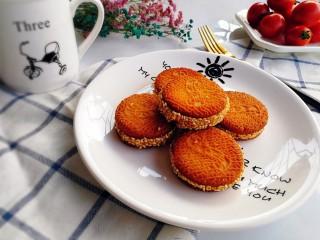 南瓜饼,成品图二,当下午茶棒棒的