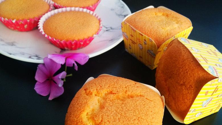 海绵蛋糕杯,健康零添加!