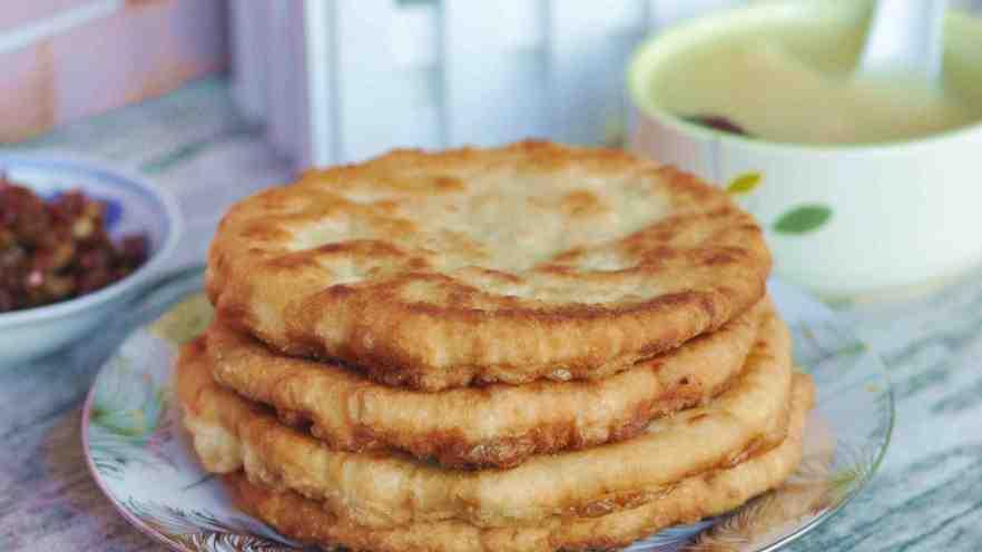 香菇、莲藕素馅饼