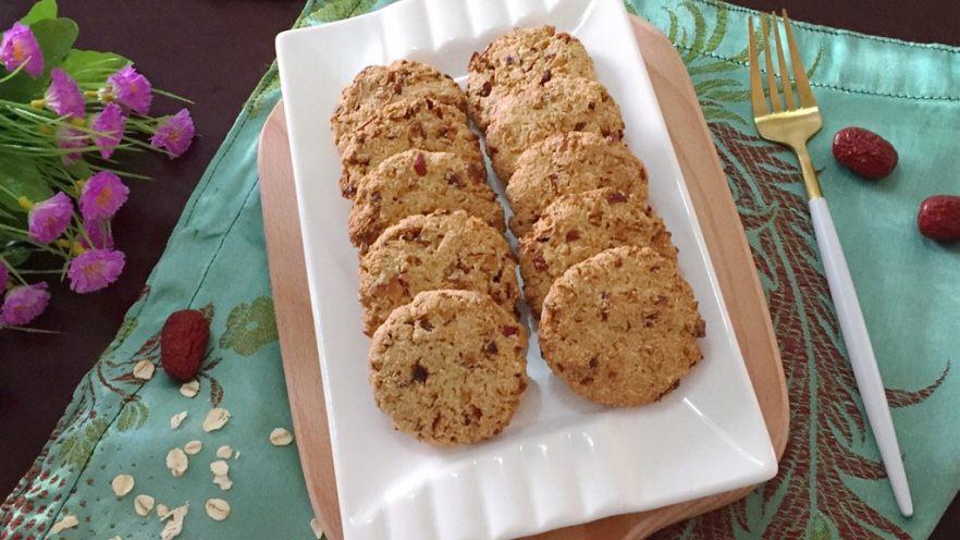 红枣燕麦饼干#家有烤箱#
