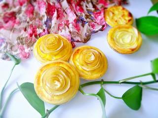 #家有烤箱#+玫瑰蛋挞,送给最爱的人们吃吧