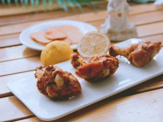 新奥尔良烤鸡腿(改良版),好了,可以来吃了,味道棒极了