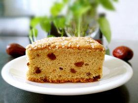补血益气养颜佳品—红糖红枣戚风蛋糕