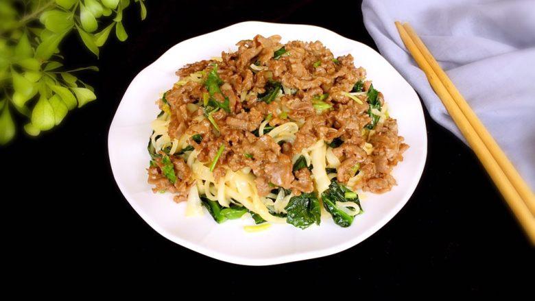 潮汕美食~牛肉粿条,完成。
