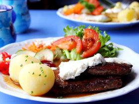 吃鲸鱼,去美丽的挪威罗弗敦群岛