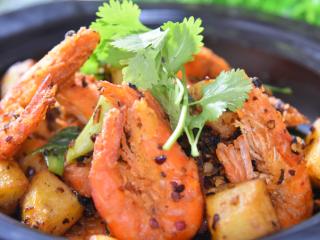 干锅香辣虾重现江湖,在鲜、香、辣中体验畅快人生!