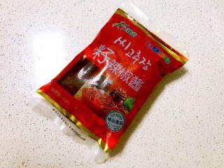 石锅拌饭,朝鲜辣椒1大勺