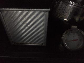 #家有烤箱#星空吐司,烤箱放一碗开水,发酵功能进行二次发酵