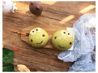 ⭐萌萌哒~小青蛙馒头⭐ ,萌萌哒小青蛙做好啦~🌟