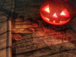 万圣节女巫的手指