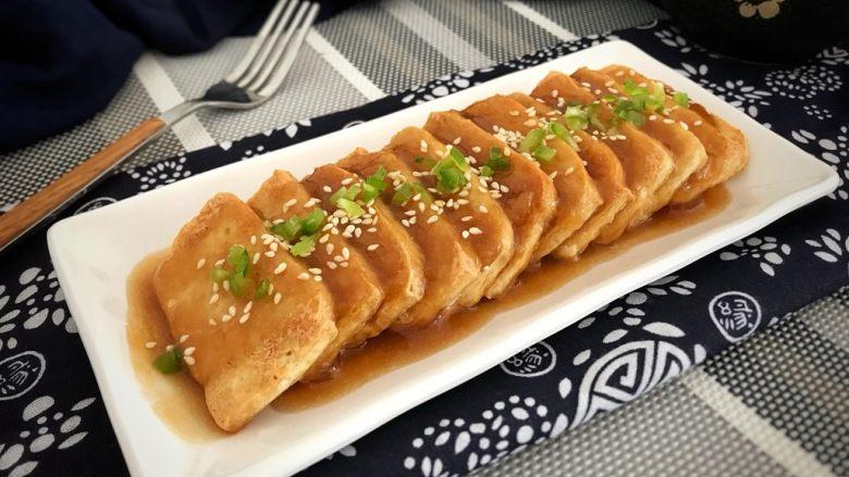 脆皮豆腐~苹果酱版