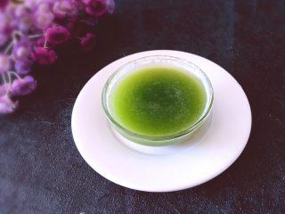 健康饮品之黄瓜雪梨汁,看看成品图,这是过滤后的