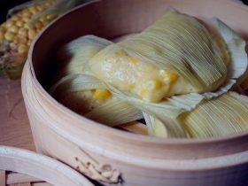 中式点心玉米粑粑