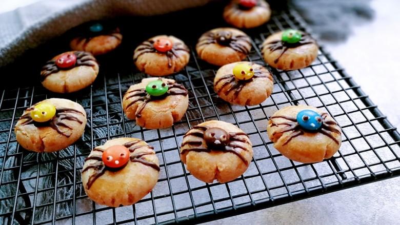 万圣节~蜘蛛饼干