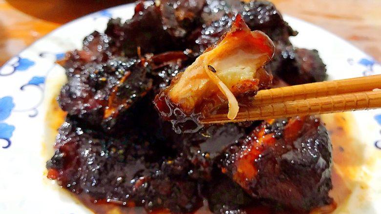 家宴必备~超级好味道的红烧黑芝麻小肋排