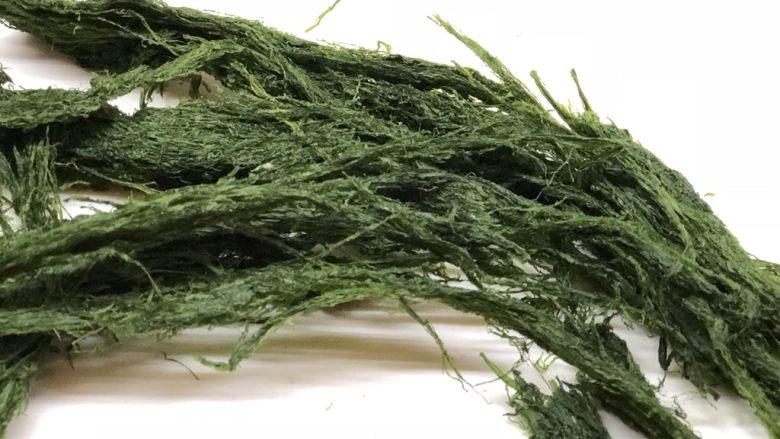海苔花生米,取一部分