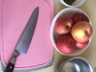 苹果派,准备好苹果