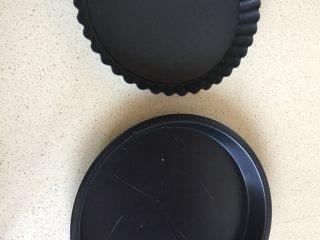 苹果派,我做了两个 但是另一个用的披萨模具