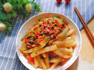 牛肉筷子萝卜,成品!荤素搭配,营养美味!