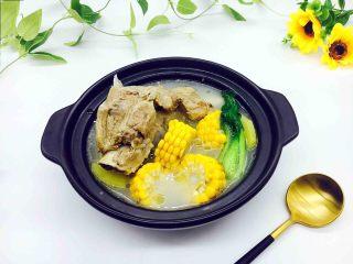 滋补养生 棒骨玉米汤