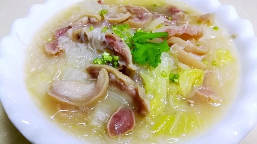 羊头白菜粉丝汤