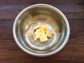 蛋黄小饼干,50克黄油室温软化。