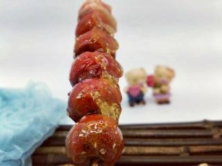 #儿时的记忆#冰糖葫芦,山楂的自然红色,无色素。