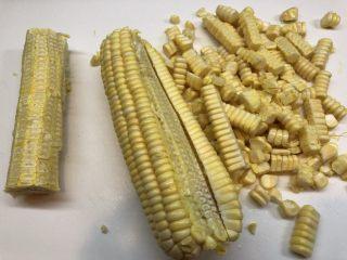 玉米渣渣,然后可以放开手脚按图所示切割(小心刀口)