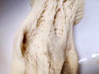 四川乐山名小吃—粉蒸肉卡饼,醒好的面如图。