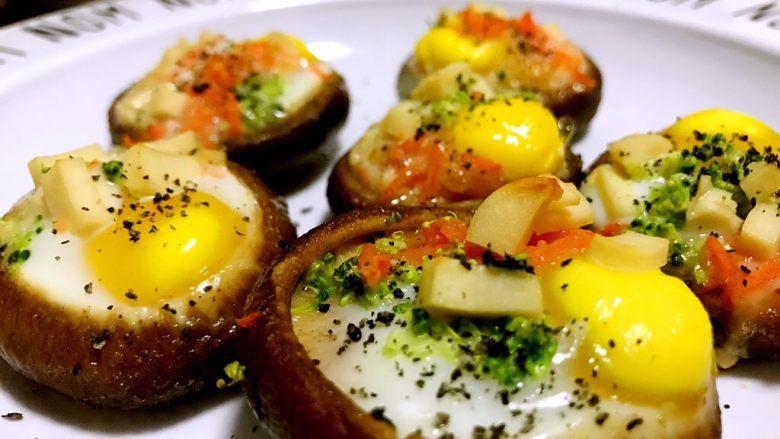 香菇鹌鹑蛋,出炉了~