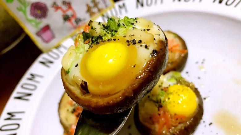 香菇鹌鹑蛋,一口子一个好吃极了😋