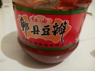 黑酱油#香辣螺蛳#,郫县豆瓣酱一勺