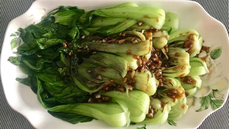 蒜香蚝汁青菜