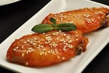 新奥尔良烤鸡翅,就这样,鸡翅就做好了,看的见的诱惑…