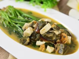 菠菜这样做太美味了,简单易学,层次感超丰富!