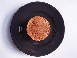低脂健康的酸奶香蕉燕麦松饼,松饼就做好啦